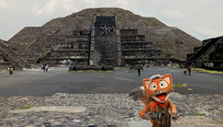 Víctor en el ombligo de la luna, México