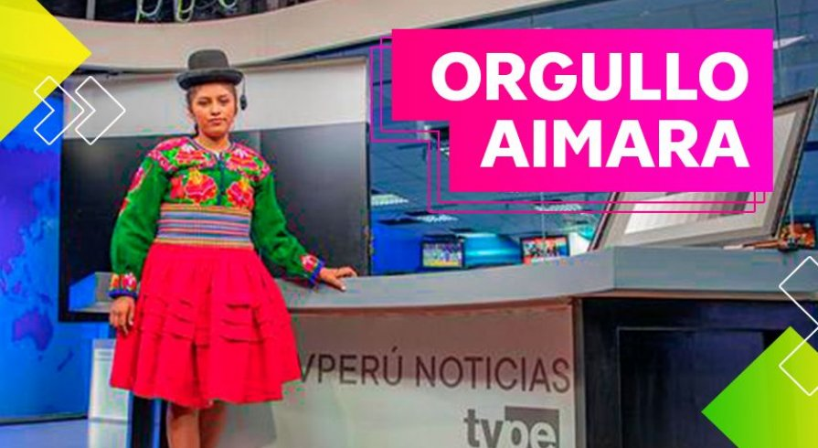 Brisayda Aruhuanca, la chica que difunde el aimara por radio y televisión a todo el Perú