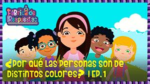 ¿Por qué las personas son de distintos colores de piel?