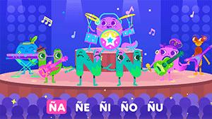 N, Ñ y las vocales